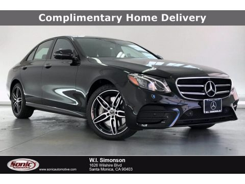 Obsidian Black Metallic 2020 Mercedes-Benz E 450 4Matic Sedan