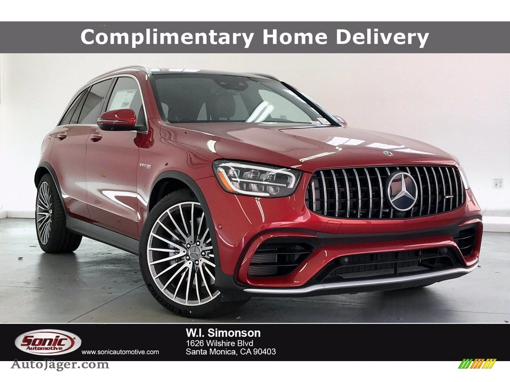 designo Cardinal Red Metallic / Black Mercedes-Benz GLC AMG 63 4Matic