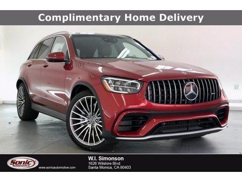 designo Cardinal Red Metallic 2020 Mercedes-Benz GLC AMG 63 4Matic