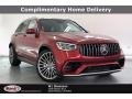 Mercedes-Benz GLC AMG 63 4Matic designo Cardinal Red Metallic photo #1