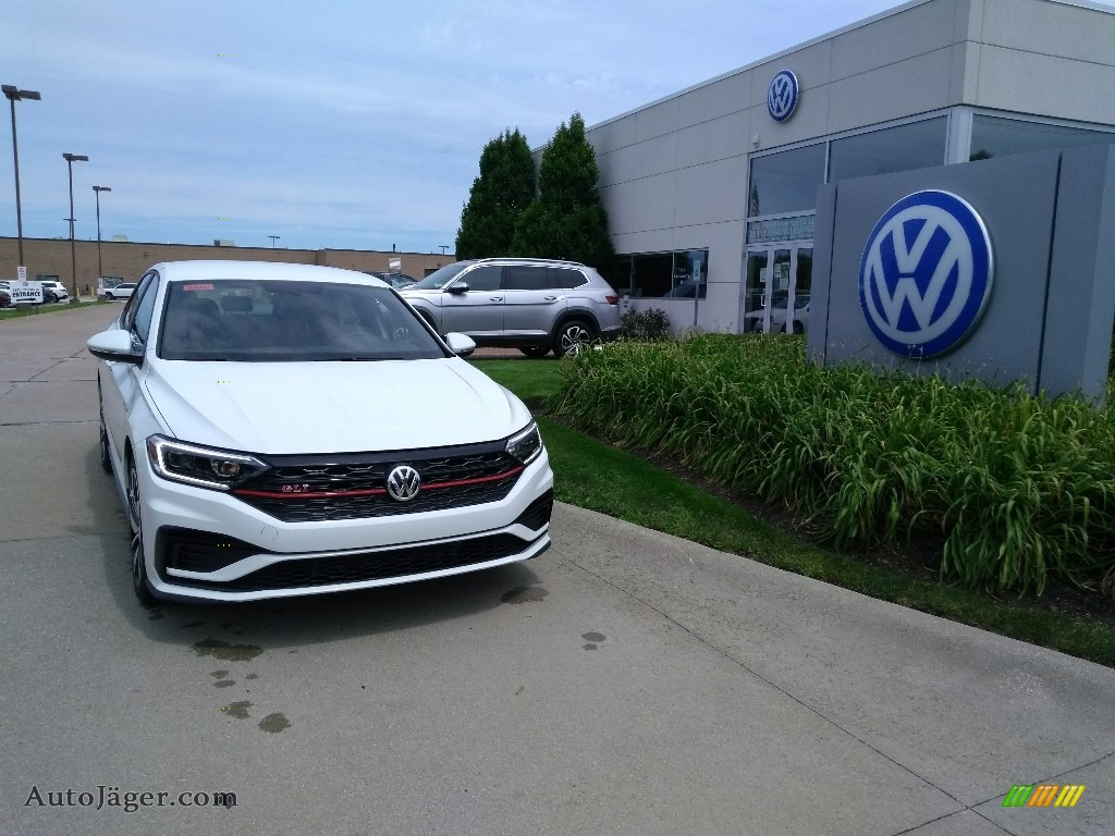 2020 Jetta GLI - Pure White / Titan Black photo #1