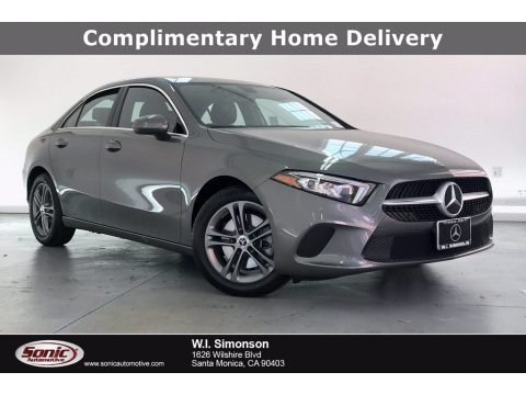 Mountain Grey Metallic 2020 Mercedes-Benz A 220 Sedan
