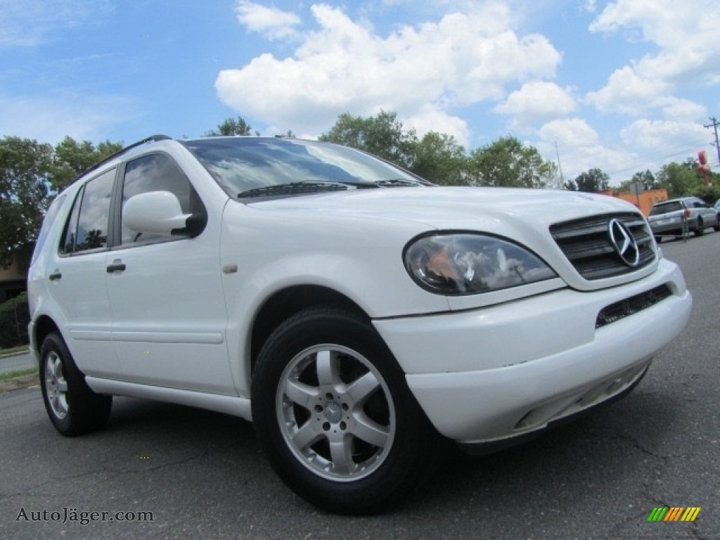 2000 ML 430 4Matic - Polar White / Java photo #1