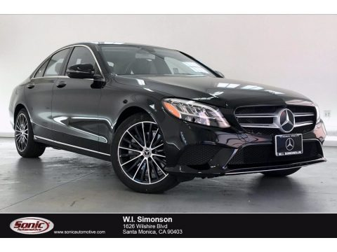 Black 2020 Mercedes-Benz C 300 Sedan