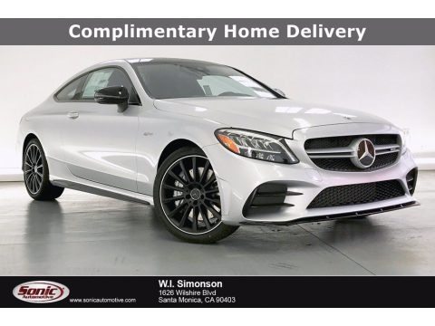 Iridium Silver Metallic 2020 Mercedes-Benz C AMG 43 4Matic Coupe