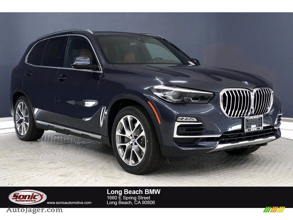 2021 X5 xDrive45e - Arctic Gray Metallic / Cognac photo #1