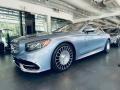 Mercedes-Benz S Mercedes-Maybach S650 Cabriolet Diamond Silver Metallic photo #1
