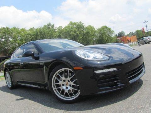 Black 2014 Porsche Panamera 4