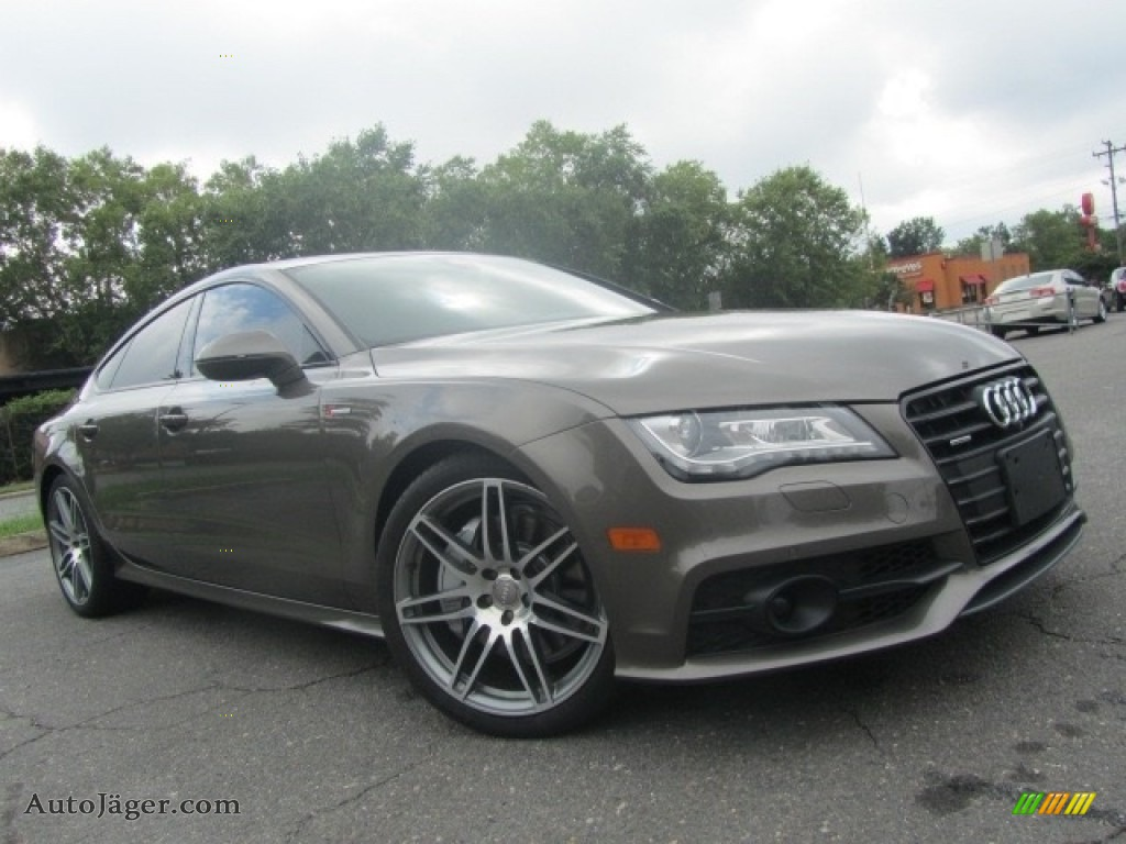 2014 A7 3.0T quattro Prestige - Dakota Gray Metallic / Black photo #1