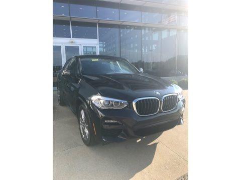 Black Sapphire Metallic 2021 BMW X4 xDrive30i