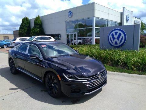 Deep Black Pearl 2020 Volkswagen Arteon SEL R-Line 4Motion