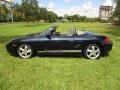 Porsche Boxster  Ocean Blue Metallic photo #3