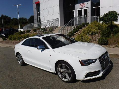 Ibis White 2014 Audi S5 3.0T Premium Plus quattro Coupe
