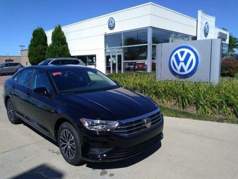 Black 2020 Volkswagen Jetta SE