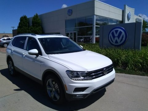 Pure White 2020 Volkswagen Tiguan SEL 4MOTION