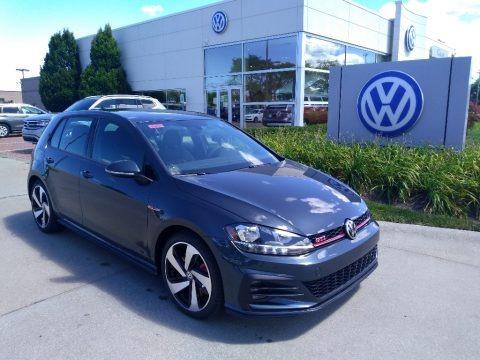 Dark Iron Blue Metallic 2020 Volkswagen Golf GTI S