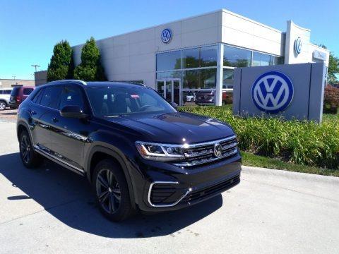 Deep Black Pearl 2020 Volkswagen Atlas Cross Sport SE Technology 4Motion