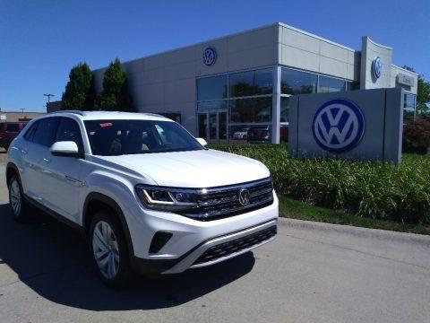 Pure White 2020 Volkswagen Atlas Cross Sport SE Technology 4Motion