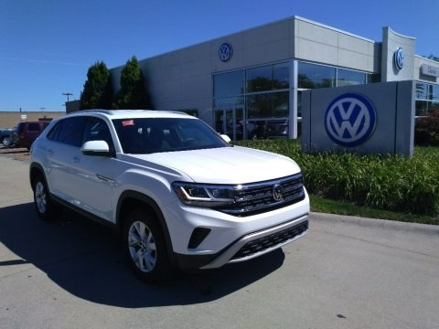 Pure White 2020 Volkswagen Atlas Cross Sport S 4Motion