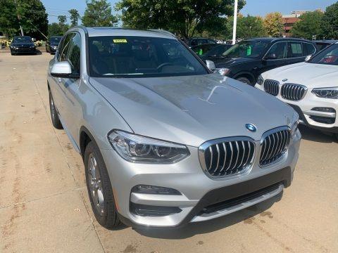 Glacier Silver Metallic 2021 BMW X3 xDrive30i