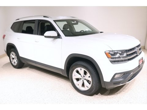 Pure White 2018 Volkswagen Atlas SE 4Motion