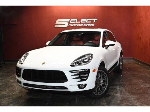 Carrara White Metallic 2016 Porsche Macan S