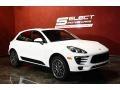 Porsche Macan S Carrara White Metallic photo #3