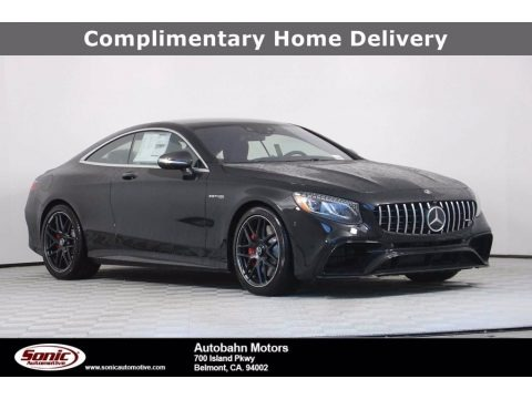 Obsidian Black Metallic 2020 Mercedes-Benz S 63 AMG 4Matic Coupe