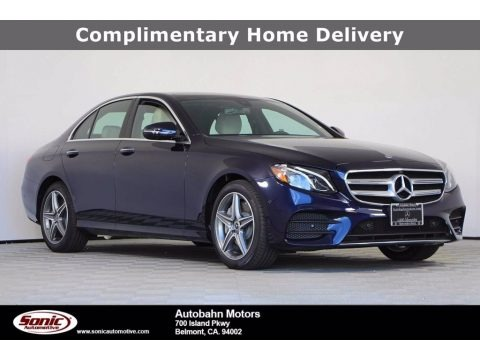 Lunar Blue Metallic 2020 Mercedes-Benz E 450 4Matic Sedan