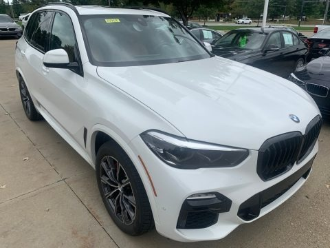 Alpine White 2021 BMW X5 xDrive40i