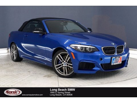 Estoril Blue Metallic 2020 BMW 2 Series M240i Convertible