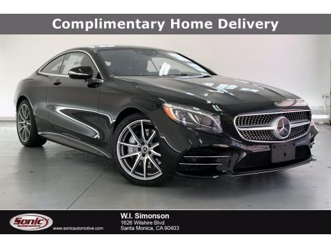 Black 2020 Mercedes-Benz S 560 4Matic Coupe