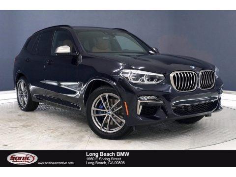 Carbon Black Metallic 2020 BMW X3 M40i