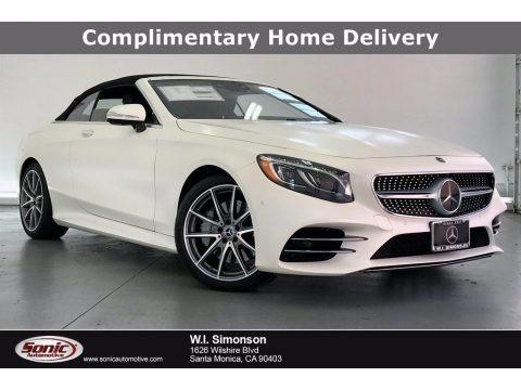 designo Cashmere White Magno (Matte) 2020 Mercedes-Benz S 560 Cabriolet