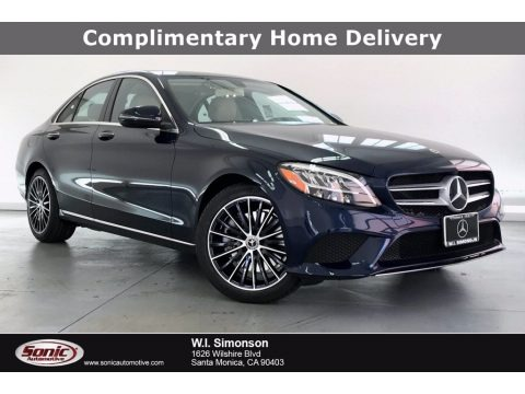 Lunar Blue Metallic 2020 Mercedes-Benz C 300 Sedan