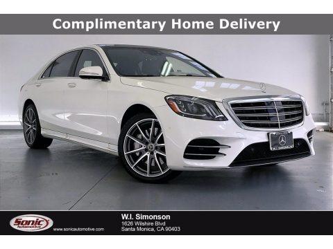 designo Diamond White Metallic 2020 Mercedes-Benz S 450 Sedan