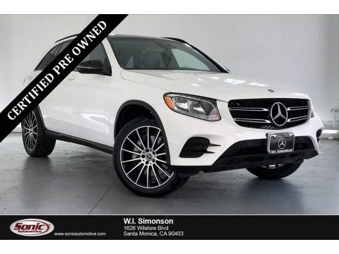 Polar White 2019 Mercedes-Benz GLC 300