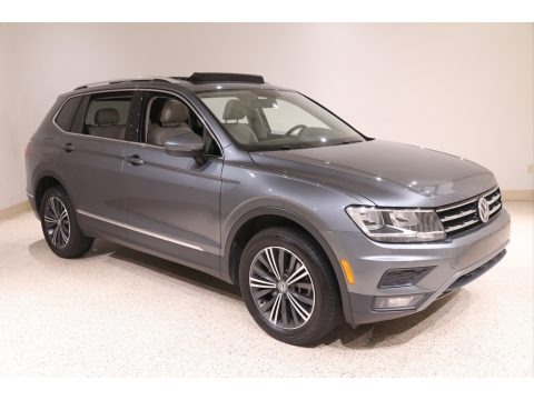 Platinum Gray Metallic 2018 Volkswagen Tiguan SEL 4MOTION