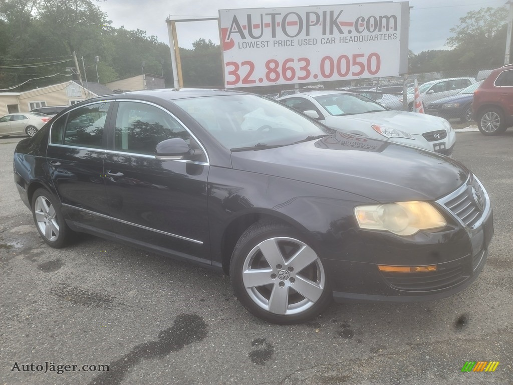 2008 Passat Komfort Sedan - Deep Black / Black photo #1
