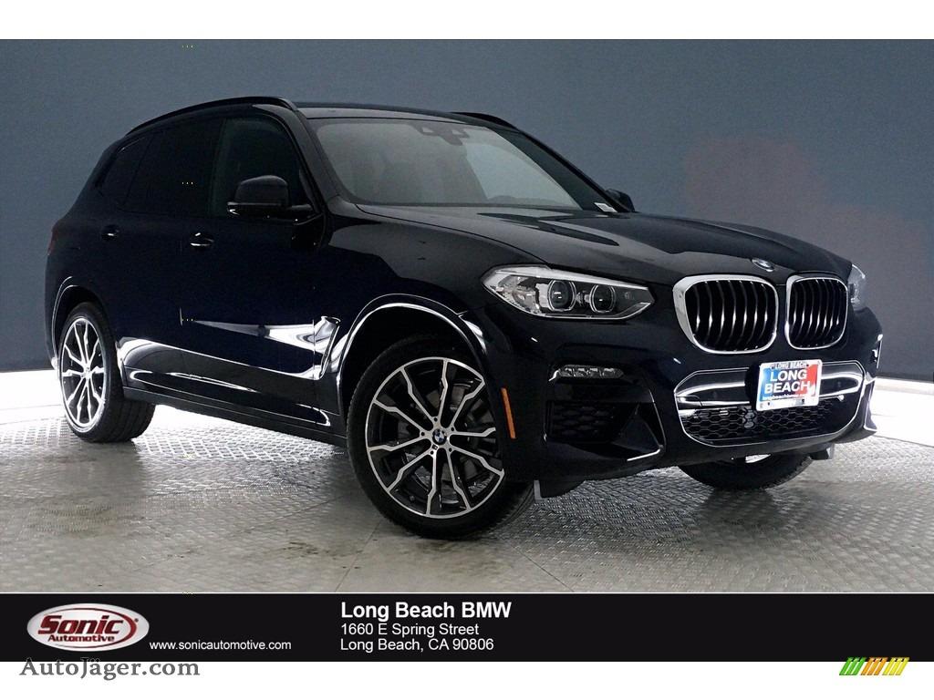 Carbon Black Metallic / Black BMW X3 sDrive30i