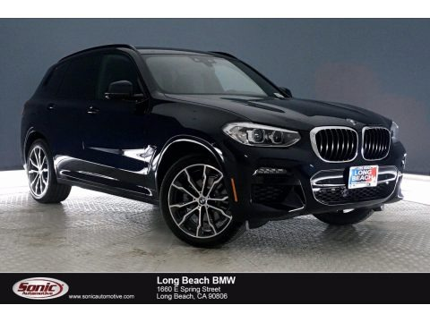 Carbon Black Metallic 2021 BMW X3 sDrive30i