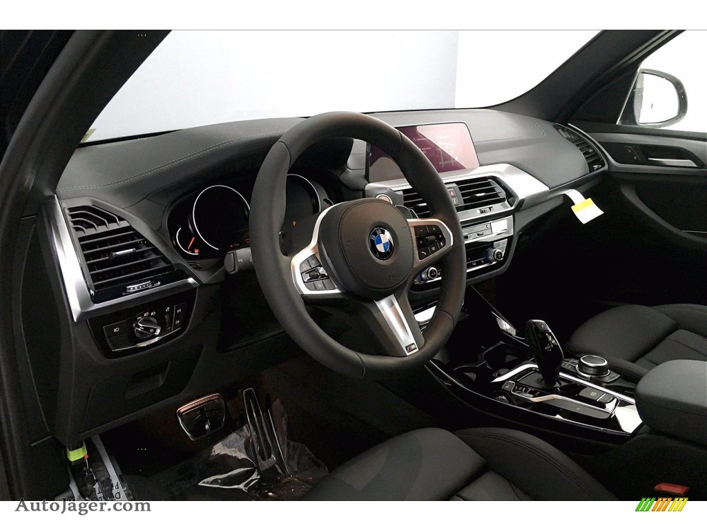 2021 X3 sDrive30i - Carbon Black Metallic / Black photo #7