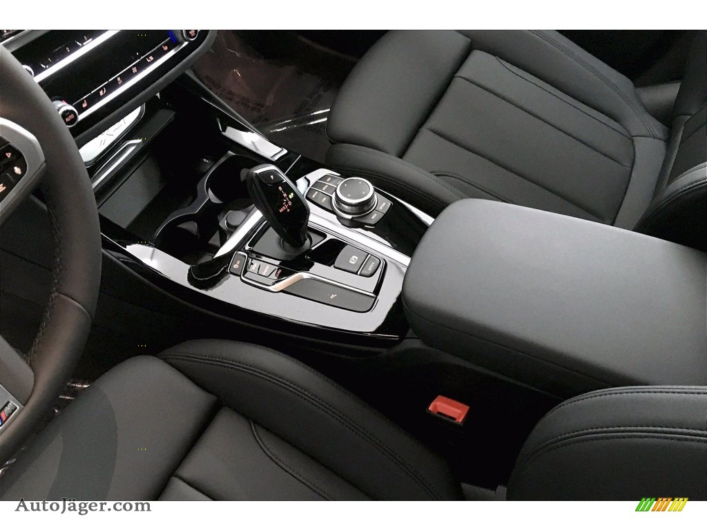 2021 X3 sDrive30i - Carbon Black Metallic / Black photo #8
