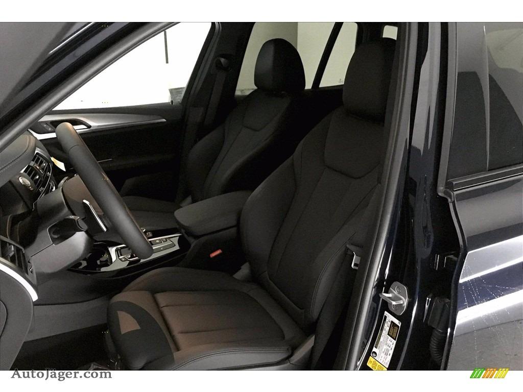 2021 X3 sDrive30i - Carbon Black Metallic / Black photo #9