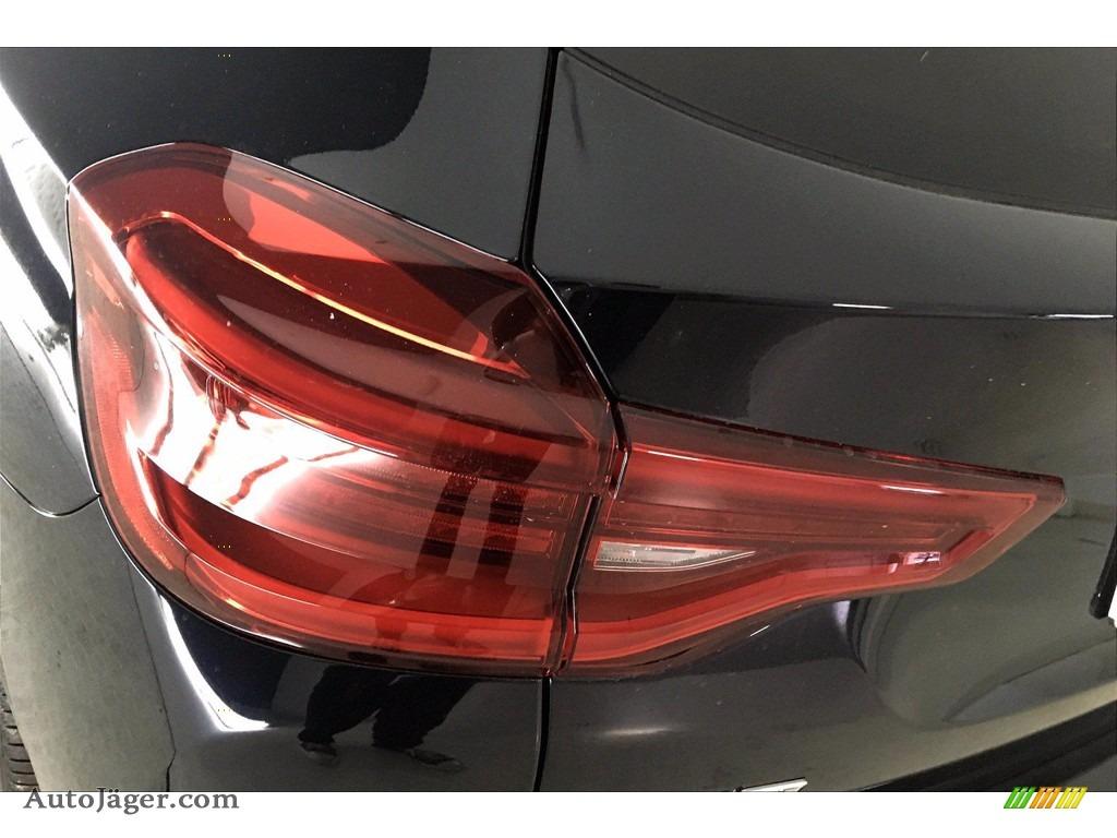 2021 X3 sDrive30i - Carbon Black Metallic / Black photo #15