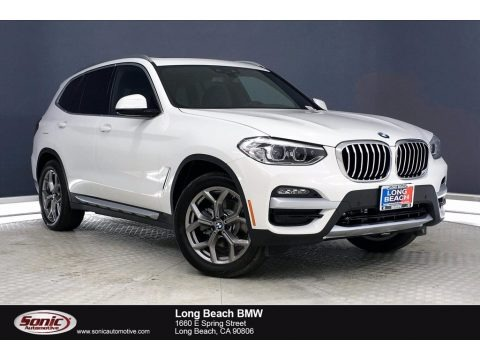 Alpine White 2021 BMW X3 sDrive30i