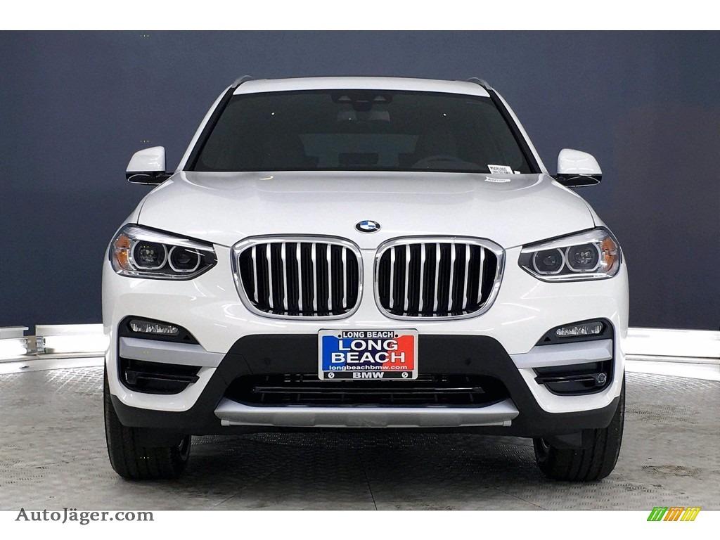 2021 X3 sDrive30i - Alpine White / Black photo #2