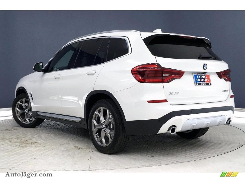2021 X3 sDrive30i - Alpine White / Black photo #3