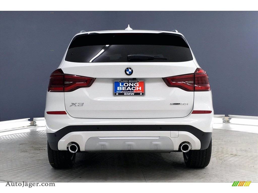 2021 X3 sDrive30i - Alpine White / Black photo #4
