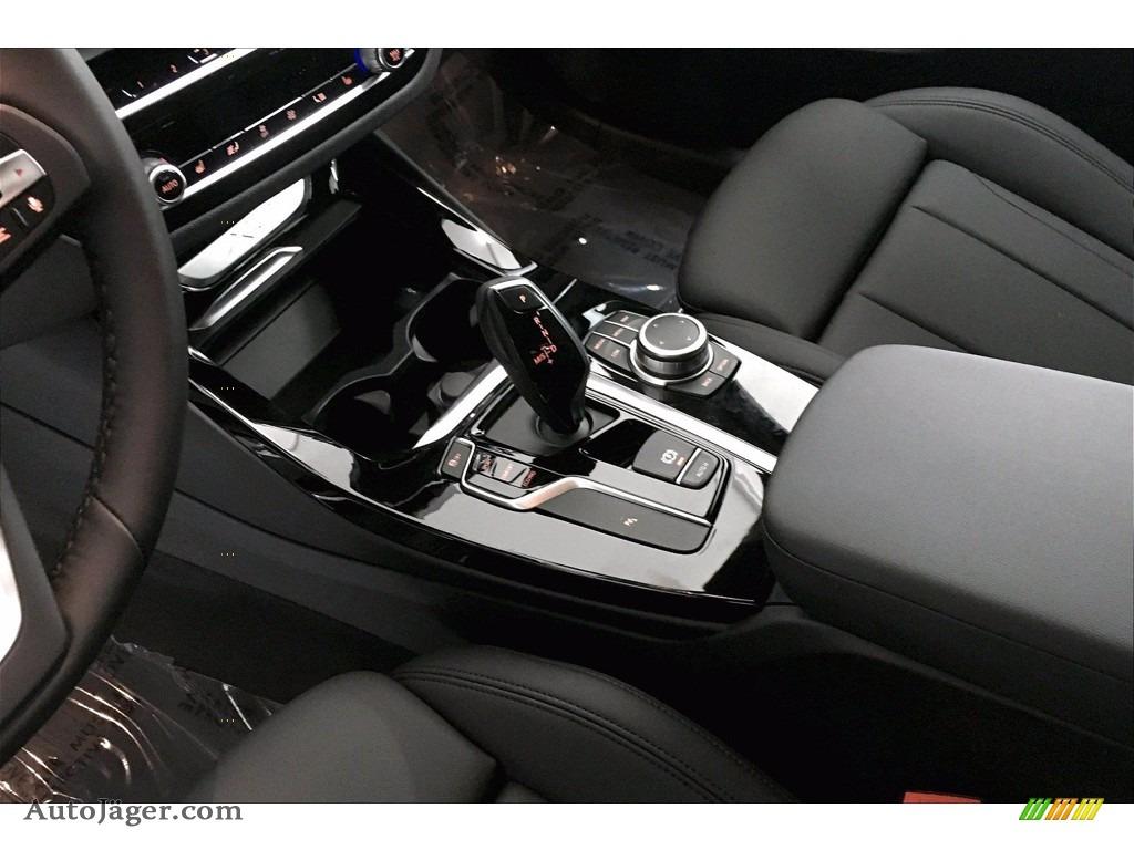 2021 X3 sDrive30i - Glacier Silver Metallic / Black photo #8